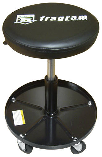 ROLL AROUND STOOL W/ PNEU SEAT