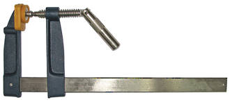120x250mm STEEL HANDLE F CLAMP