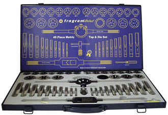 TAP AND DIE SET 45pce SAE