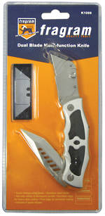KNIFE DUAL BLADE MULTIFUNCTION