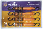 RATCHET TIE DOWN SET 4pce HEAVY DUTY