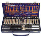 44 PIECE 1/4 SOCKET SET (METRIC & SAE)
