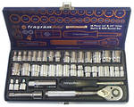 39 PIECE 1/4 & 3/8 SOCKET SET (METRIC & SAE)