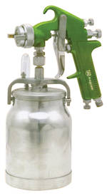 SPRAY GUN SUCTION FEED HIGH PRESSURE