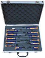 12PCE SCREWDRIVER SET (ALUMINIUM CASE)