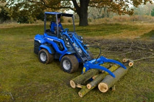 MultiOne mini loader 7 series with log grabber
