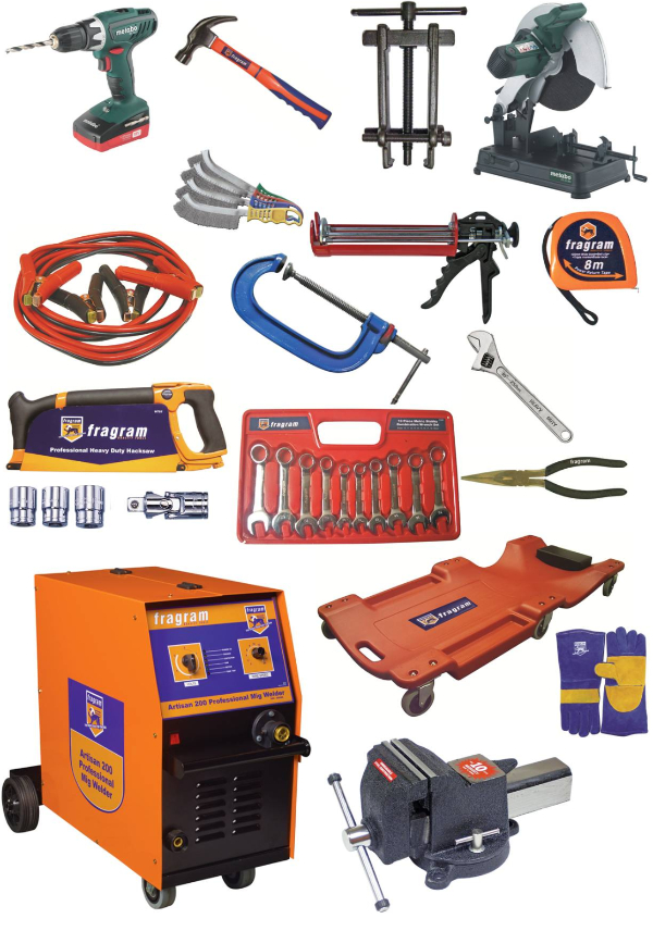 tools and machinery-727