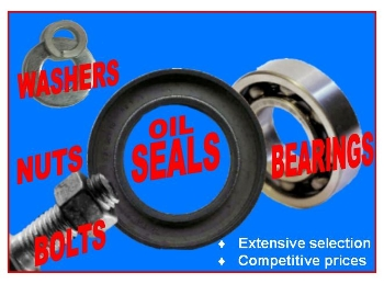 nuts bolts seals bearings washers-481