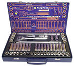 51 PIECE 1/2 SOCKET SET (METRIC & SAE)