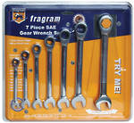7 PIECE GEAR SPANNER SET